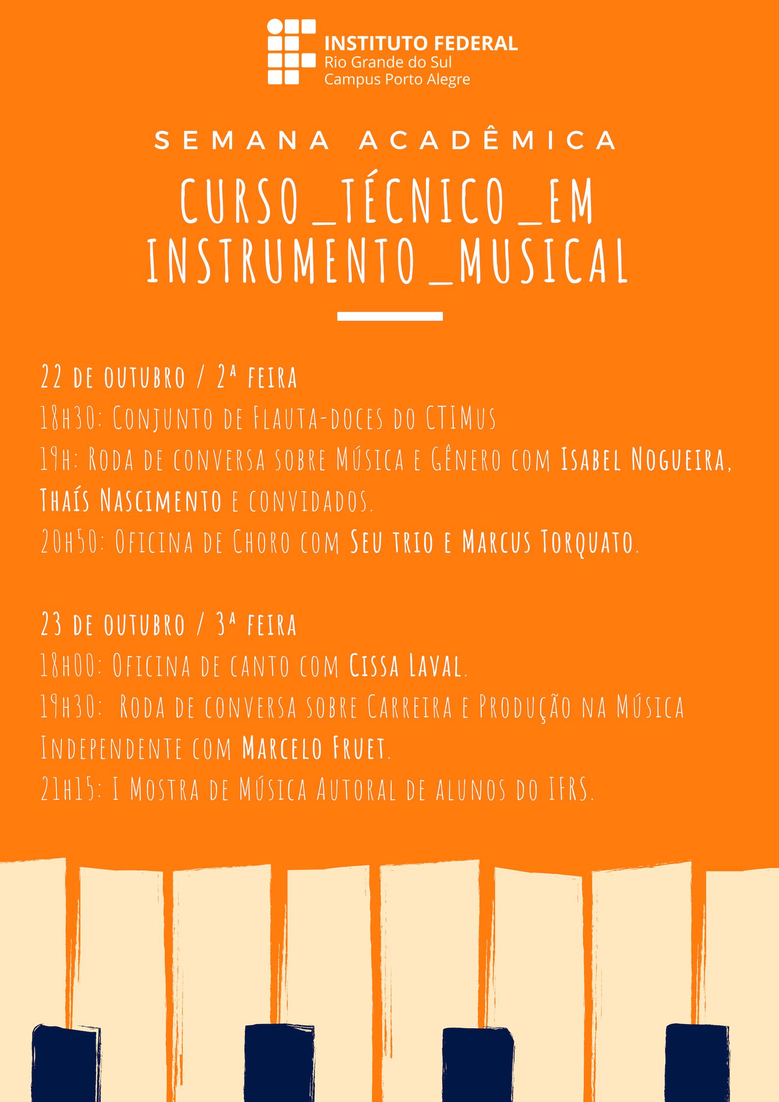 notícias principais ifrs campus porto alegresemana acadêmica do curso técnico em instrumento musical acontece dias 22 e 23 10