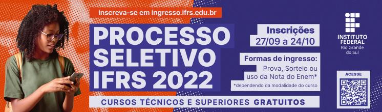 Processo Seletivo 2022/1