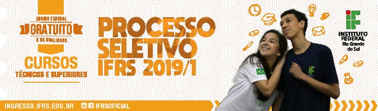 Processo Seletivo 2019/1