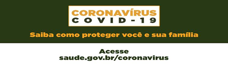 Coronavírus - Orientações de Prevenção